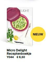 micro delight receptenboekje