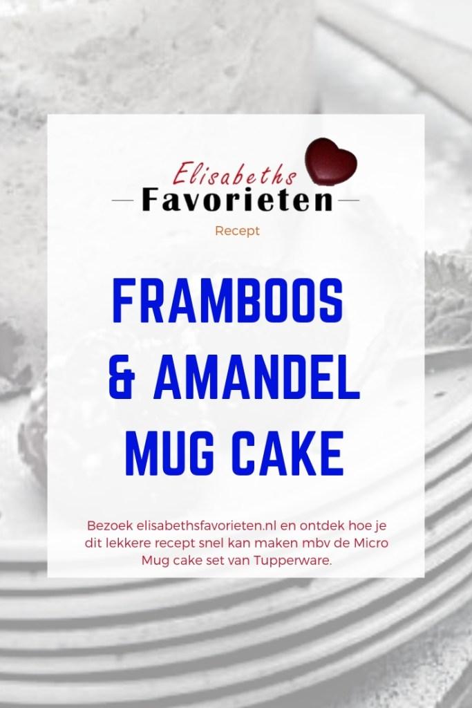 framboos & amandel mug cake