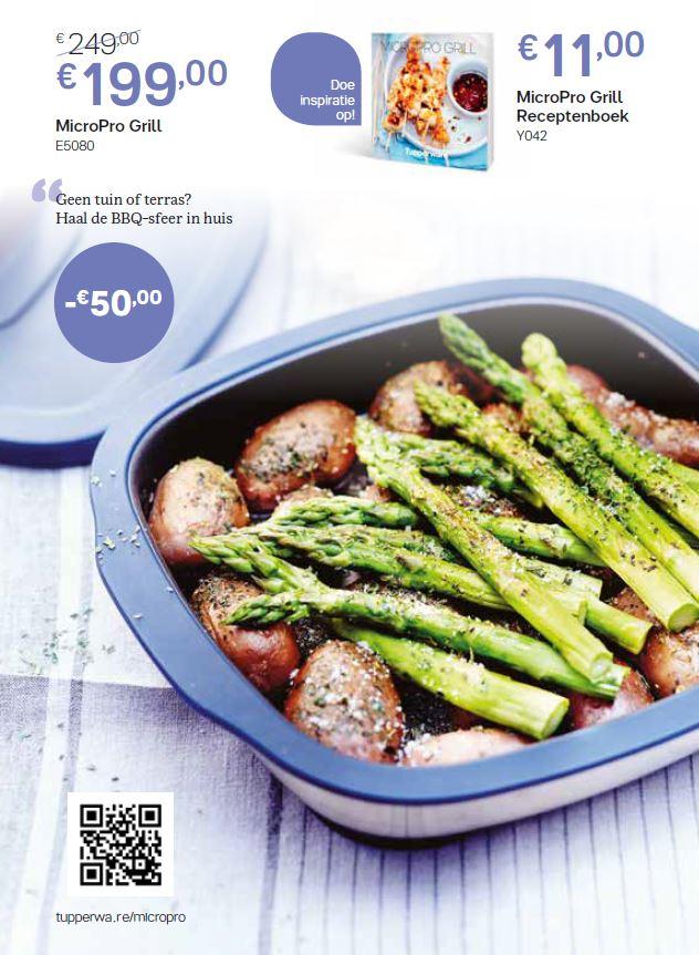 microprogrill + receptenboek