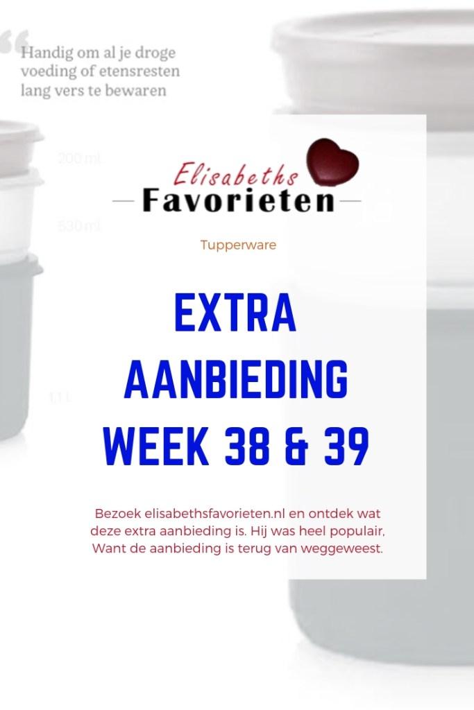 Extra aanbieding week 38 & 39