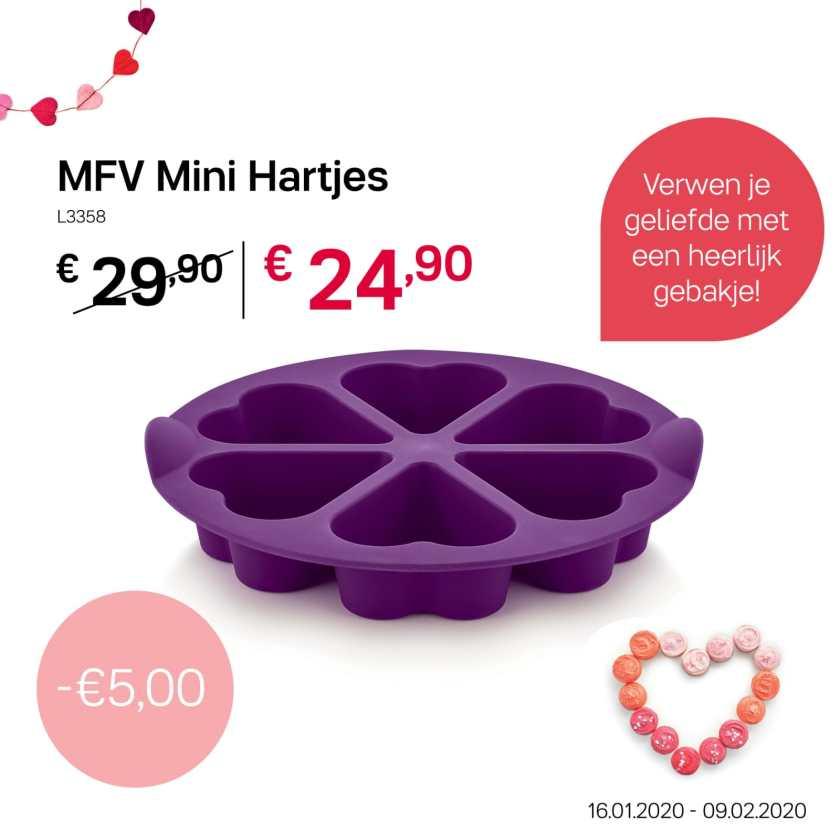 MFV mini Hartjes - Paars