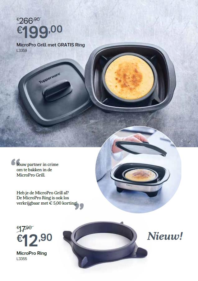 micropro grill en ring