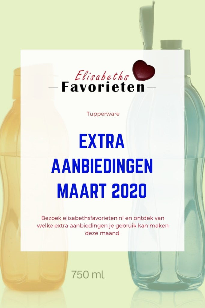 extra aanbieding maart 2020