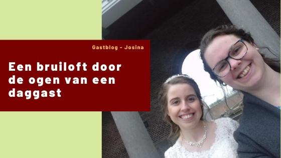 Een bruiloft, van het begin tot het eind, door de ogen van een daggast