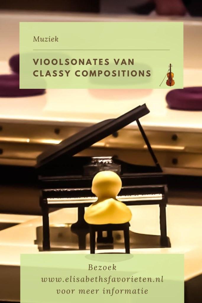 Vioolsonates van Classy Compositions