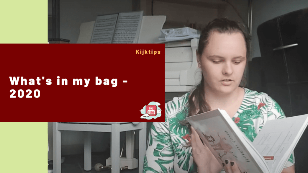 What's in my bag – 2020