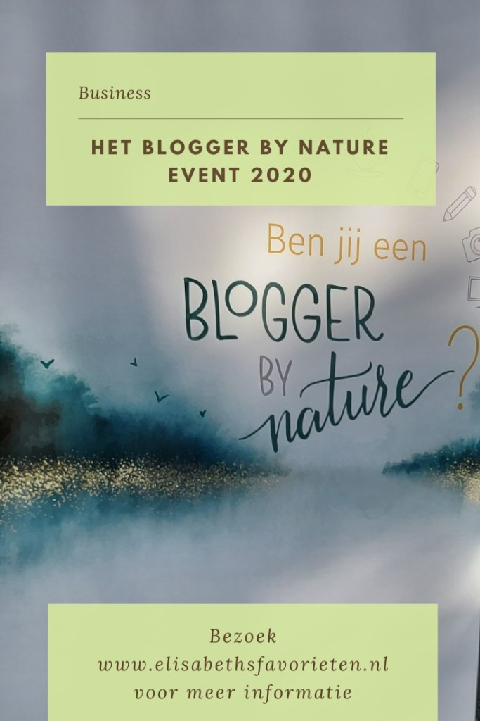 Het Blogger by nature event 2020
