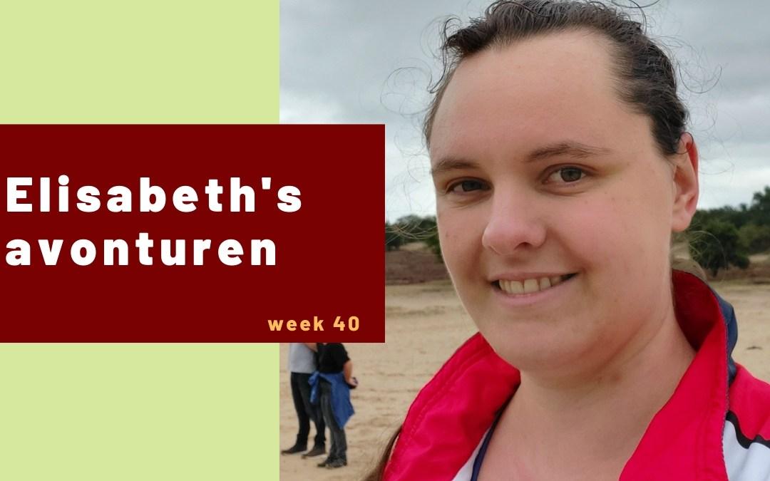Elisabeth's avonturen week 40 – 2020