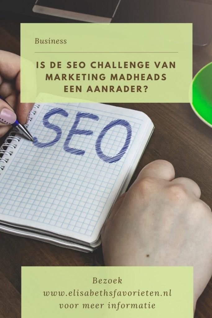 Is de SEO challenge van Marketing Madheads een aanrader_