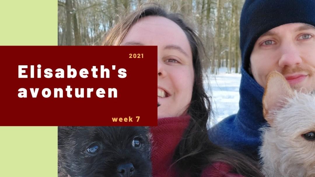 Elisabeth's avonturen week 7 – 2021