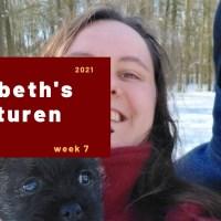 Elisabeth's avonturen week 7 - 2021