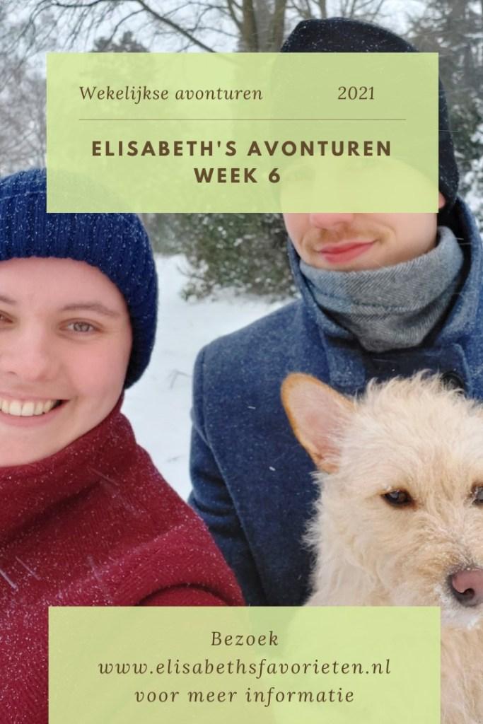 Elisabeth's avonturen week 6 2021