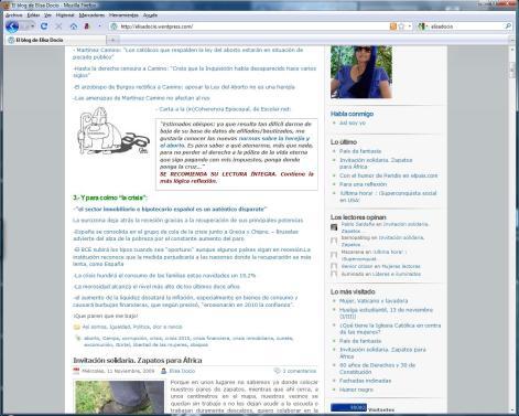 90000 visitas blog de elisa docio