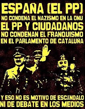 PP Condena franquismo