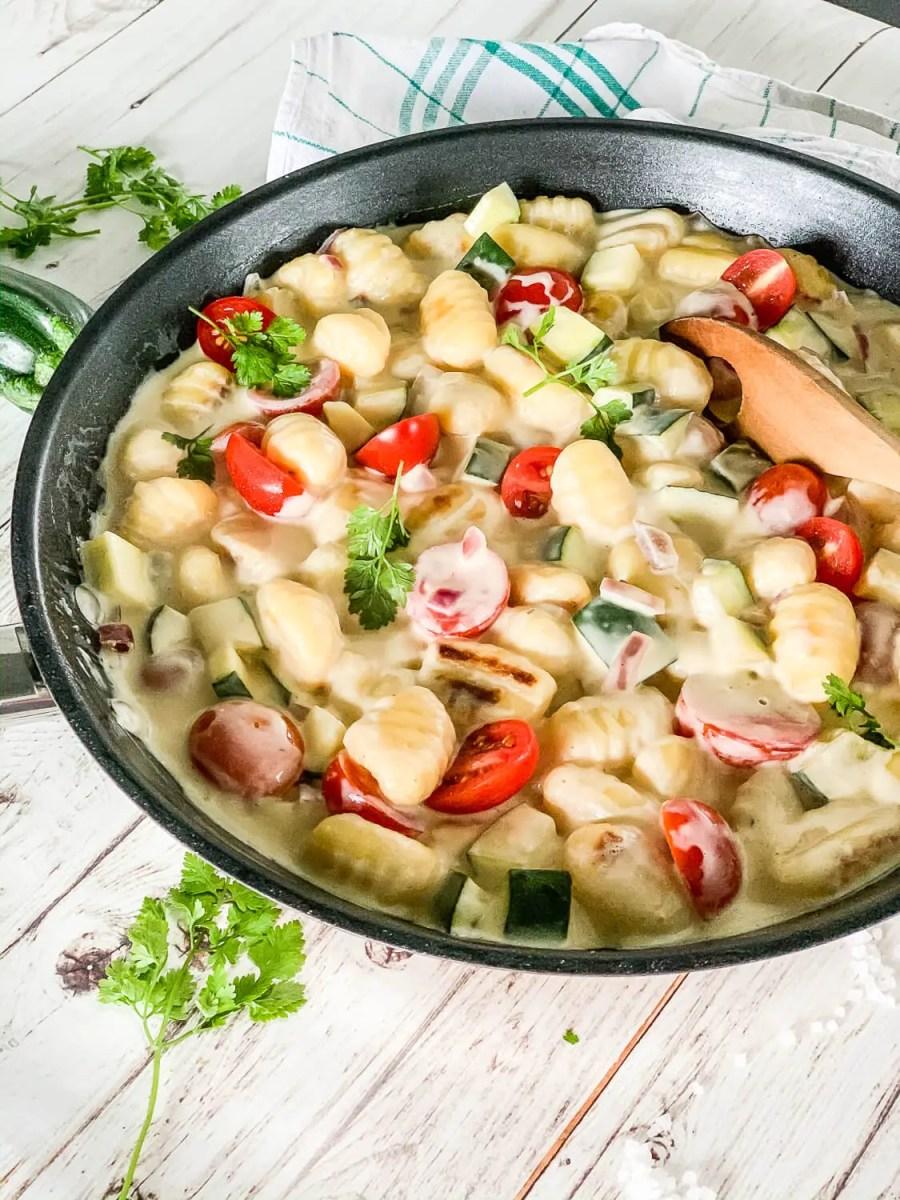 Vegetarische Gnocchipfanne