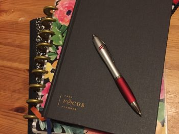 Composition notebook, Happy Planner & Full Focus Planner