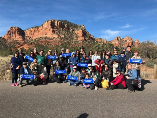 Sedona DreamTrip Group 2018