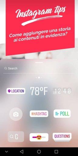 visual storytelling stickers instagram