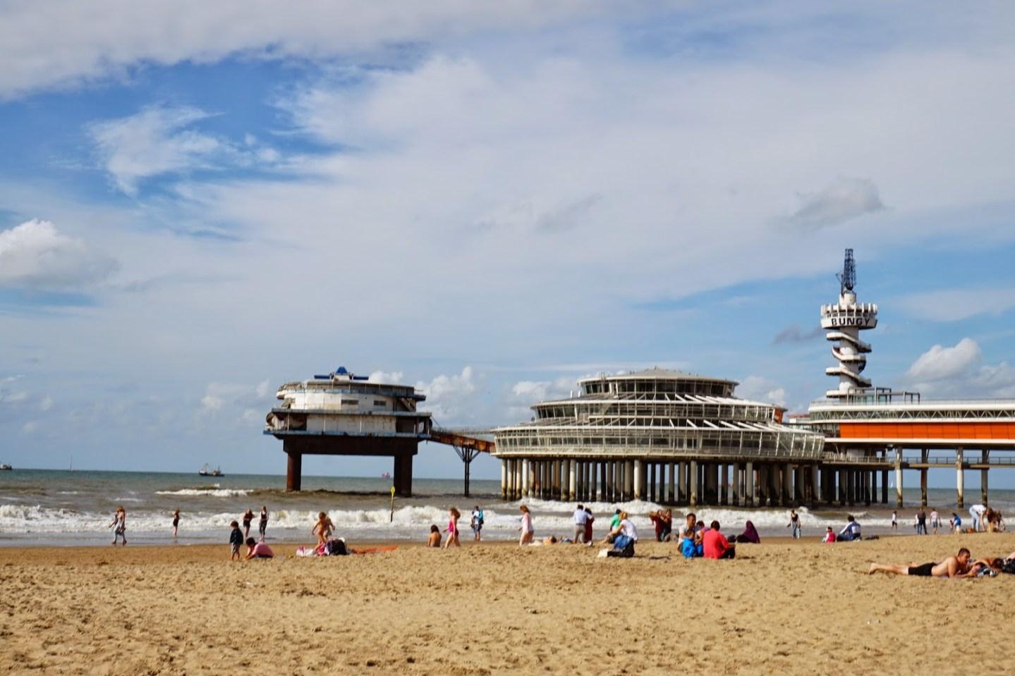 【2014 暫時逃離】海牙Den Haag|這下午,我看見了北海 Scheveningen Beach