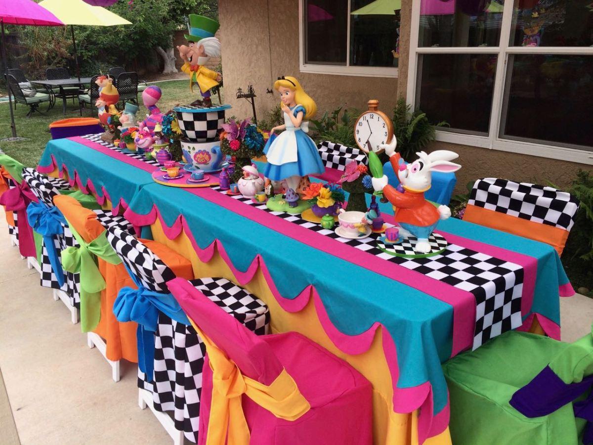 Alice In Wonderland Party Elise Jackson