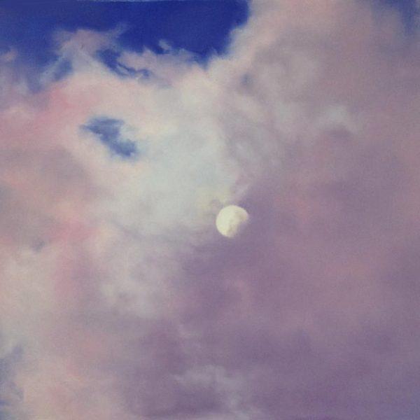 Moon Over Asheville Tile