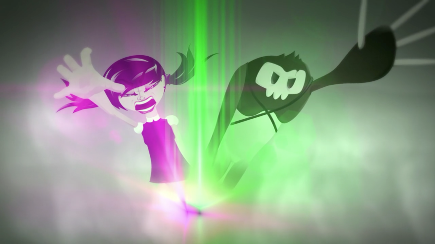 screenshot of Lizze game intro