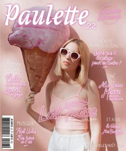 Paulette Magazine 2015 Je suis une fille lait fraise