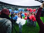 pom pom girls foot euro 2016 TF1
