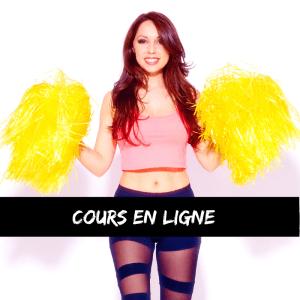 ecole de pom-pom girls france Cours de danse pompom en ligne sur internet à distance