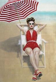 Riviera Summer 48x64