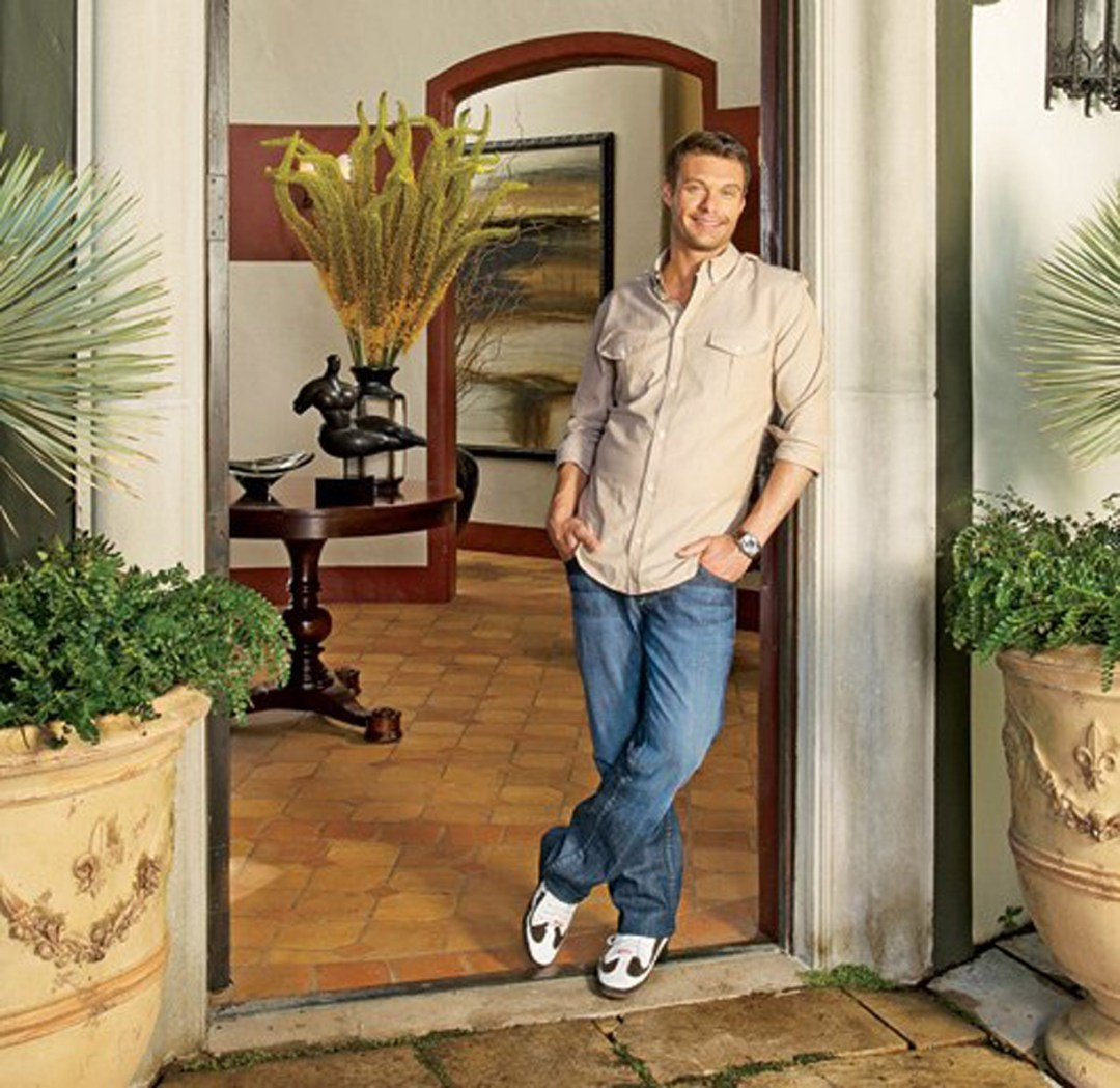 Ryan Seacrest's Home — Installation Featured in Architectural Digest