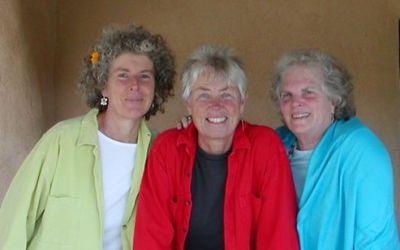 Elise Witt, Terry Garthwaite and Becky Reardon
