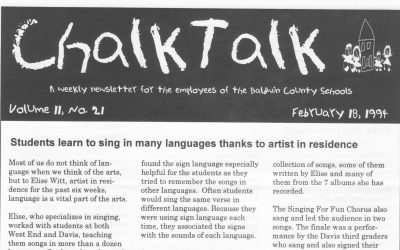 Chalk Talk | Sing in Many Languages