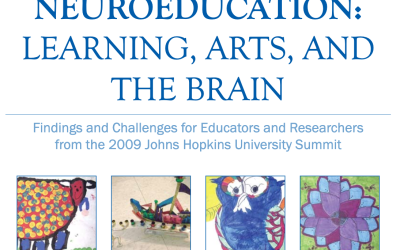 NEUROEDUCATION: LEARNING, ARTS, AND THE BRAIN – By Mariale Hardiman, Ed.D., Susan Magsamen, Guy McKhann, M.D., and Janet Eilber