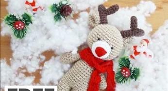 Amigurumi Deer Recipe Making   Weihnachten häkeln, Amigurumi ...   188x346