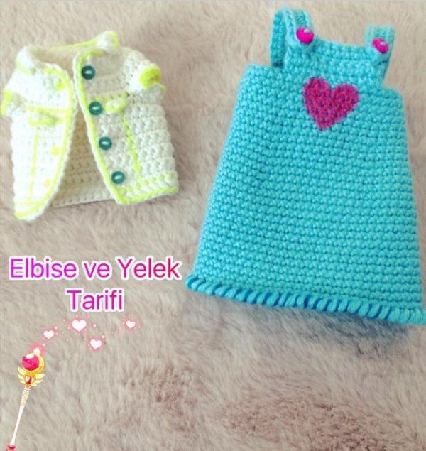 Amigurumi Bebek Elbise Yapımı | Bebek elbiseleri, Bebek elbisesi ... | 635x600