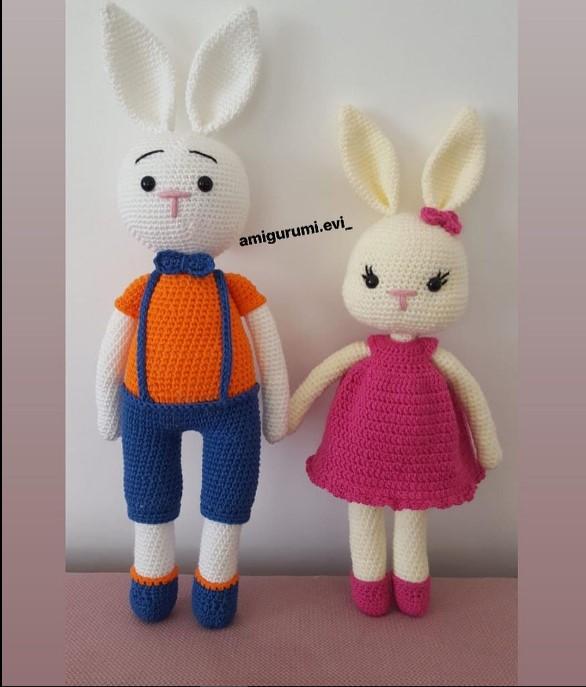 amigurumi küçük tavşan anahtarlıkları ve süs eşyası anahtar ... | 687x586
