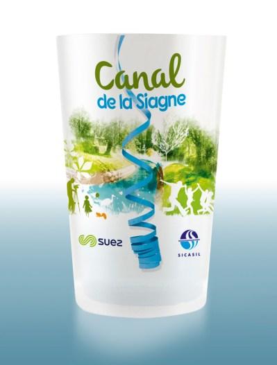 Fête du Canal de la Siagne - Gobelet