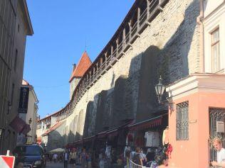 Tallinn IMG_2760 FotóZsuzsi, városfal