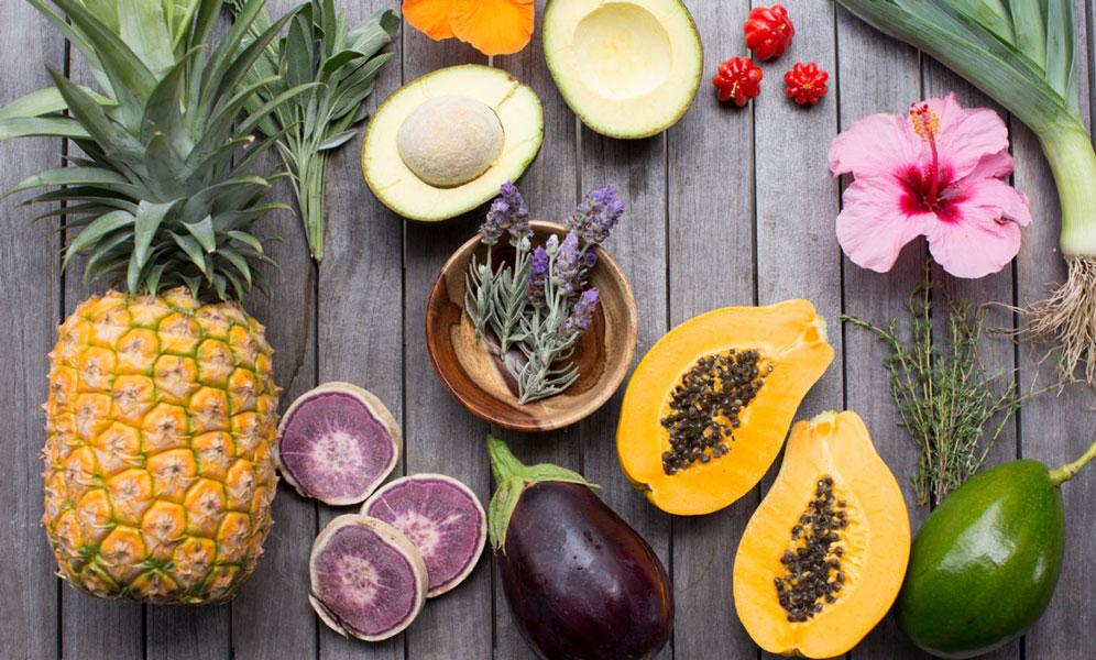 fresh fruit Lumeria Maui