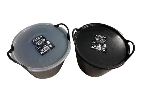 Gorilla bucket 26L with lid