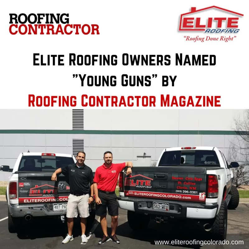 Cody Hayes and Randy Brothers Young Guns Elite Roofing