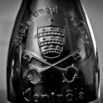 chateauneuf du pape bottle sign