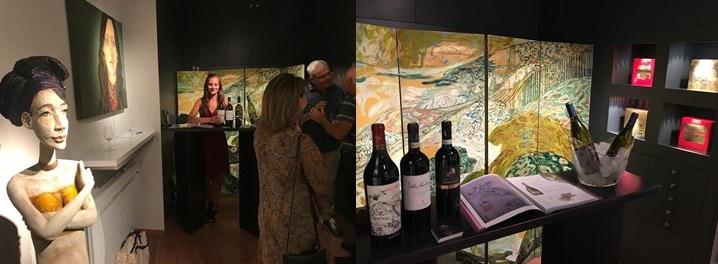 vernissage vins et art italien a annecy