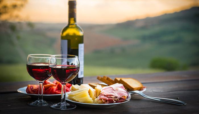 cheese-wine