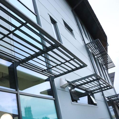 network-rail-mallard-house-brise-soleil-elite-aluminium-profile