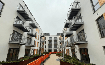 Wapping Wharf, Bristol nearing completion with Balfour Beatty