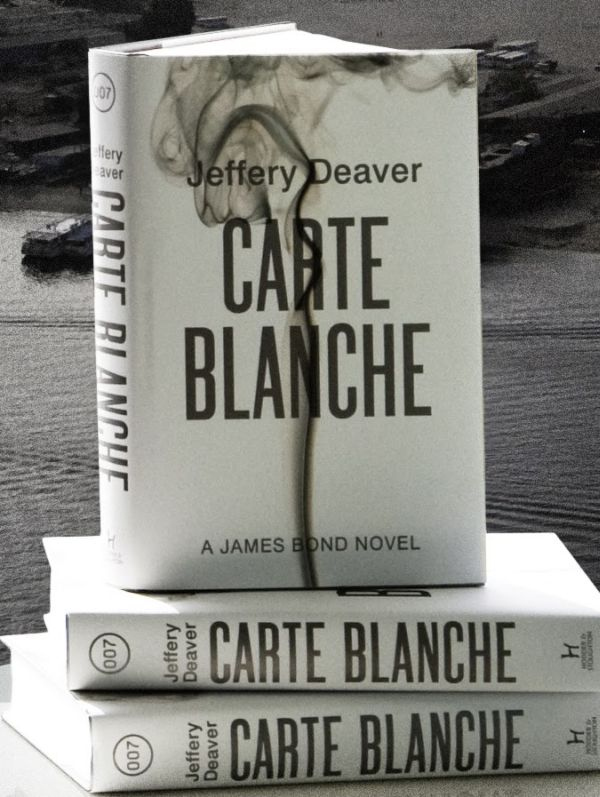 Carte Blanche Jeffery Deaver James Bond novel Carte Blanche, the Pure Bond New Book Launched in London in Bond Style