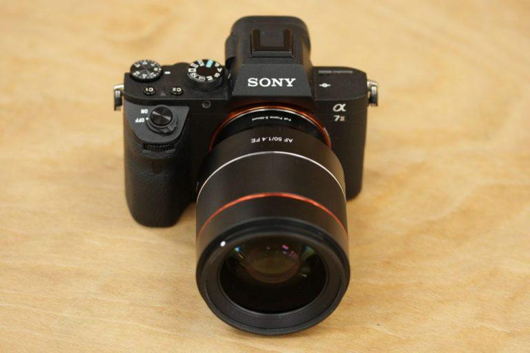 Samyang AF 50mm F / 1.4 FE Обзор