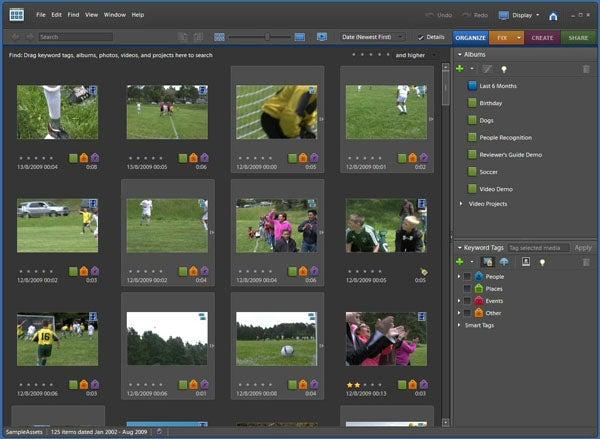 Обзор Adobe Premiere Elements 8 и Photoshop Elements 8